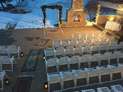 New Years Eve Ceremony - Grape Arbour